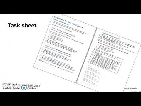 KCB205 Instructions Assessment 3b: Team & Peer Appraisal