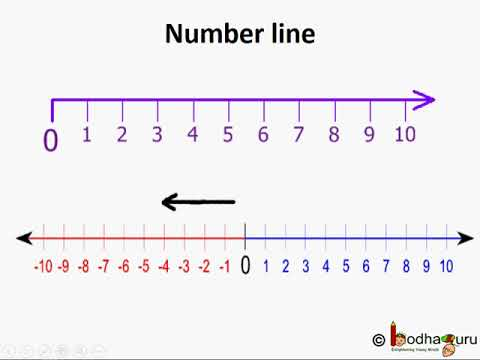 प र ण क integers on numberline in hindi youtube