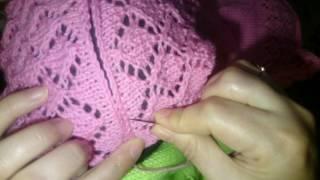 @Как сшивать вязаные изделия иглой (видео-урок)