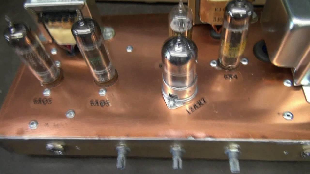 tube amp theater d lab minuteman guitar 6aq5 head tone monster youtube. Black Bedroom Furniture Sets. Home Design Ideas
