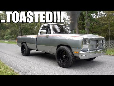 MORE FIRST GEN 12 VALVE CUMMINS DESTRUCTION!!!!