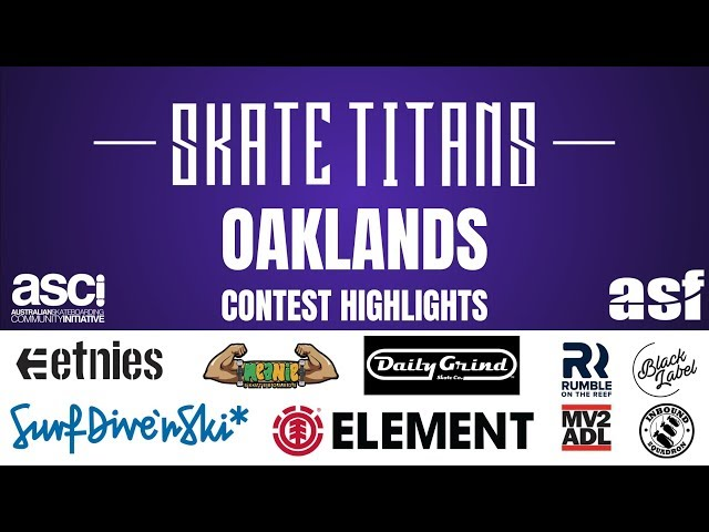 Round 3 Skate Titans highlights - Oaklands 18/19 Season.