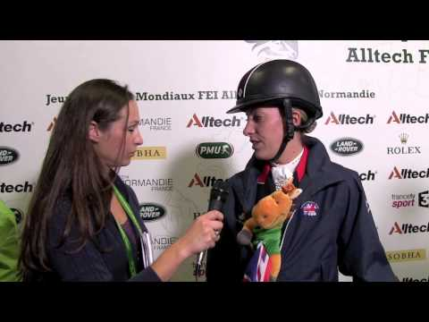 Wdm palm beach 2012 interview with charlotte dujardin for Dujardin interview