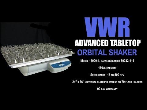 VWR ORBITAL TABLETOP SHAKER (4847T)