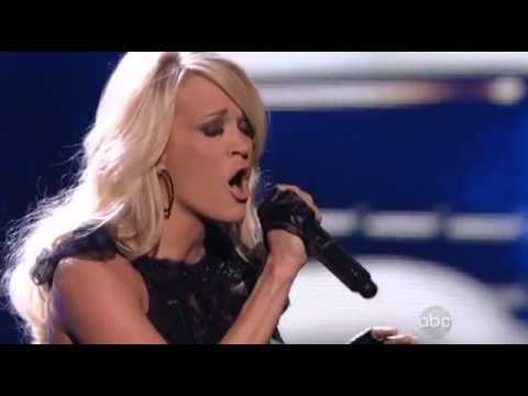 Carrie Underwood  Two Black Cadillacs  American Music Awards 2012