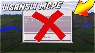 Mcpe 1.2.0.7 LİSANS SORUNU ÇÖZÜMÜ (Lisanslı APK)