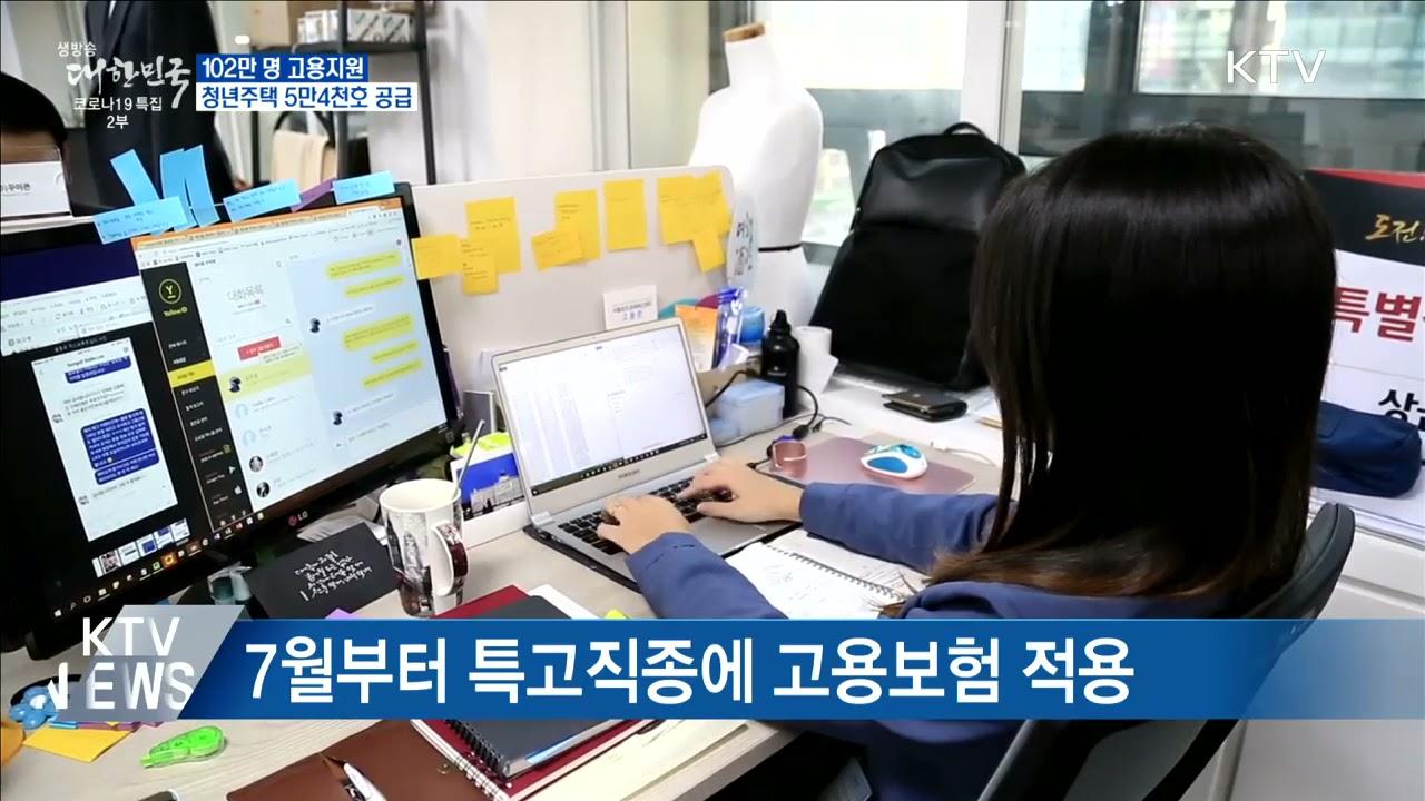 [KTV 대한뉴스] 102만 명 고용지원·청년주택 5만 4천 가구 공급