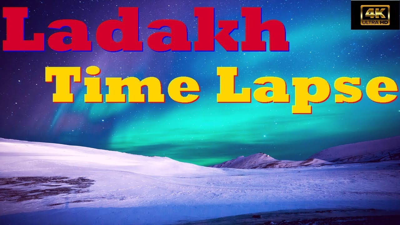 Incredible 4K Timelapse Video of Ladakh | GoPro | 4K | Ladakh