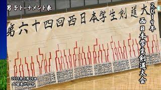 2019/05/26 久留米アリーナ 西日本学生剣道大会.