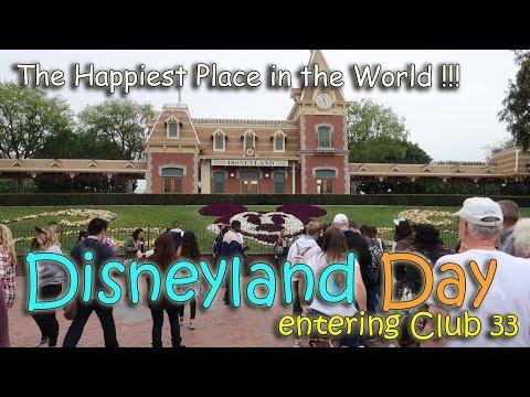 DISNEYLAND DAY! Entering CLUB 33 | March 22nd, 2017 | Vlog #62