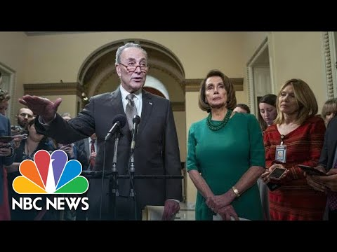 Chuck Schumer: President Donald Trump 'Plunging The Country Into Chaos' | NBC News