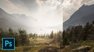 Move 2 Sliders to Create Dreamy Fog in Photoshop!