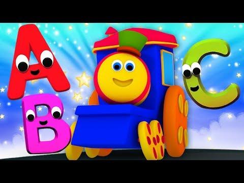 Bob Trem Abc | Aprenda Alfabetos Abc | Vídeo Educativo | Bob Abc Train | Kids Tv Português