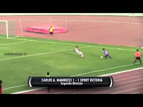 CA Mannucci Gol Vs Sport Victoria 2015 (Peru)