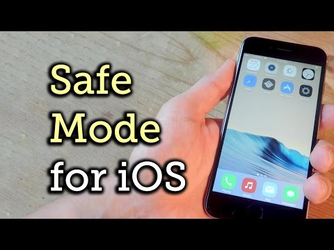 Entering Safe Mode on Your Jailbroken iOS Device [How-To]
