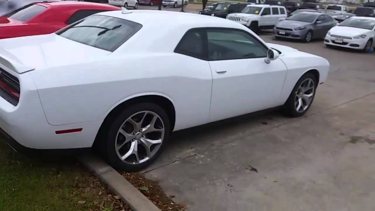 2016 Dodge Challenger Sxt Plus >> 2016 Dodge Challenger Sxt Plus Youtube
