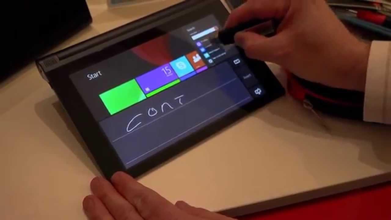 Lenovo Yoga Tablet 2 Windows 8 AnyPen Hands On