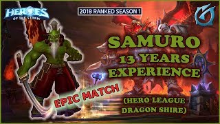 Grubby | Heroes of the Storm - Samuro - 13 Years of Experience - HL 2018 S1 - Dragon Shire