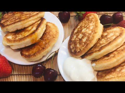 ПЫШНЫЕ ОЛАДЬИ на кефире. Никогда не опадают. Вкусный завтрак для всей семьи.