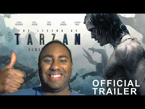 The Legend of Tarzan Imax trailer review