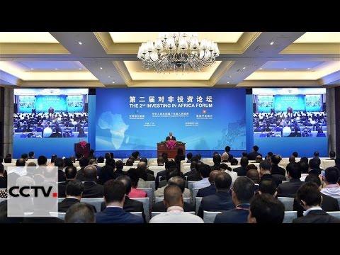 Inicia en China segundo Foro de Inversión de África