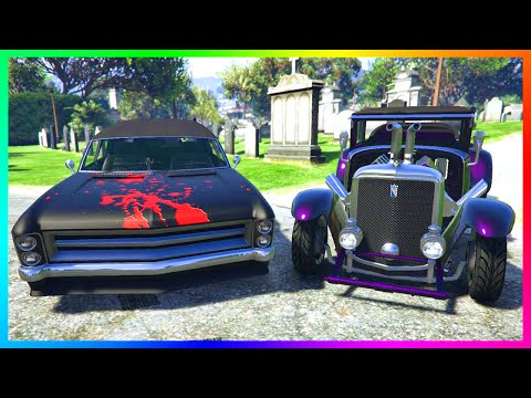 GTA 5 HALLOWEEN DLC SPENDING SPREE! - Buying ALL NEW Cars, M
