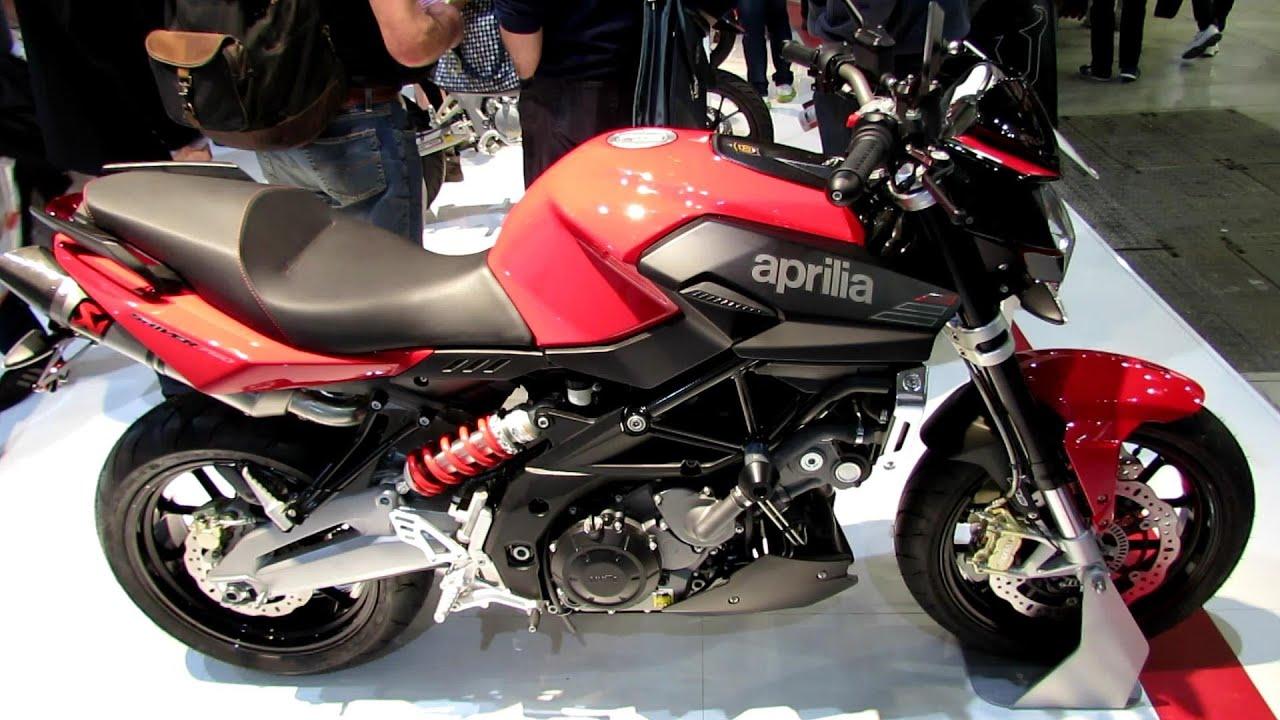 2014 Aprilia Shiver 750 ABS Walkaround - 2013 EICMA Milan Motorcycle ...