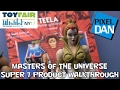 Masters of the Universe Super 7 Product Walkthrogh at New York Toy Fair 2017