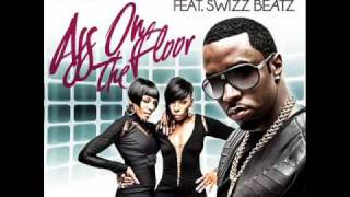 Diddy - Dirty Money - Ass On The Floor ft. Swizz Beatz  [Lyrics In Description]