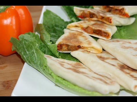 crêpes-turques-aux-crevettes---savory-turkish-pancakes---وصفة-الفطائر-التركية-بالقمرون