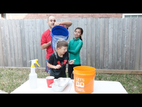 Coin Game For Kids - You Lose - You Get Wet