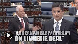 Khazanah blew RM80m on lingerie deal, Azmin tells Najib