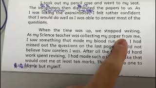 Publication Date: 2021-04-28   Video Title: 英文呈分考試 閱讀理解 需要做卷嗎?導讀 學生讀你聽 2