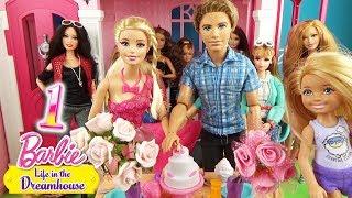 Мультик Годовщина Барби и Кена Салон красоты Видео для детей Play Baby doll ♥ Barbie Original Toys