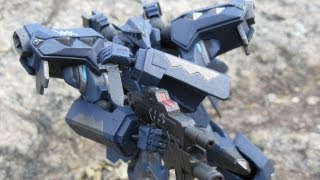 Revoltech Muv Luv Alternative F-22A Raptor EMD Phase Review - CollectionDX
