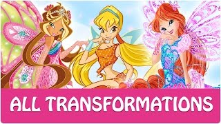 Winx Club Todas Las Transformaciones