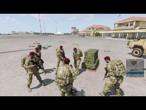ArmA 3 - Checkpoint Training 20/08/2016 - 6th Airborne Division British Milsim
