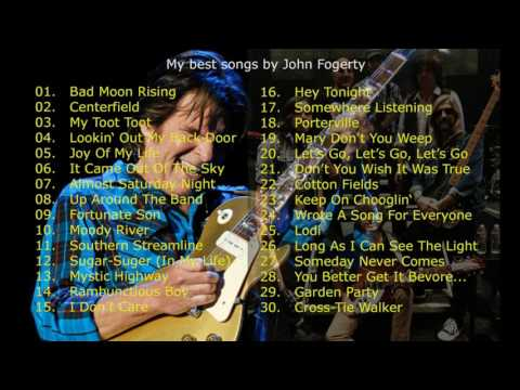 My favorite songs by John Fogerty