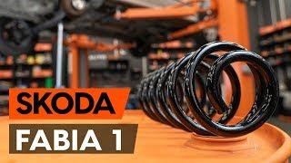 Montaż Zawieszenie tył lewy prawy SKODA FABIA Combi (6Y5): darmowe wideo