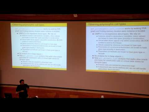 GNU Tools Cauldron 2014 - Devirtualization in GCC