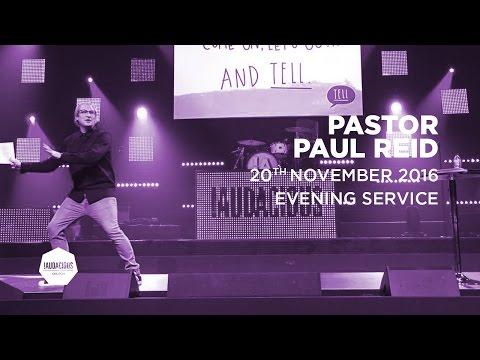 "Paul Reid - 20th November 2016 - ""Tell"""