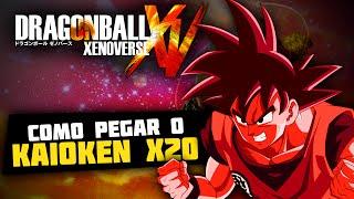 DRAGONBALL XENOVERSE: COMO PEGAR O KAIOKEN X20