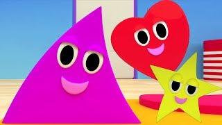 3d формы песни   Изучите фигуры   Мультфильм для детей   3D Shapes Song   Shapes Song For Kids