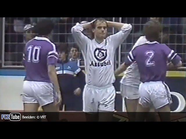 1988-1989 - Jupiler Pro League - 26. Club Brugge - RSC Anderlecht 1-1