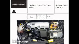 Toyota Prius : Cooled By The Heat Of Sun Videos