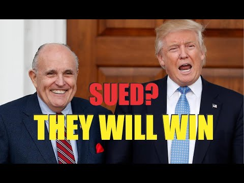 Trump and Rudy Sued! It WILL FAIL - Lawyer Explains Why