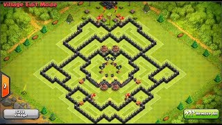 Clash Of Clans - Perfect Town Hall 9 FARMING Base!
