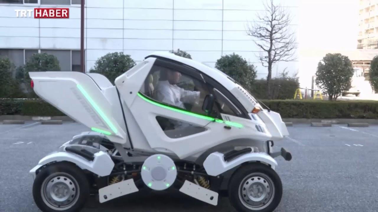 Katlanabilir Otomobil (Japon bilim adamlarının park sorunu ...