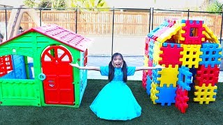 Wendy Pretend Play w/ Colors Block Playhouse Toy