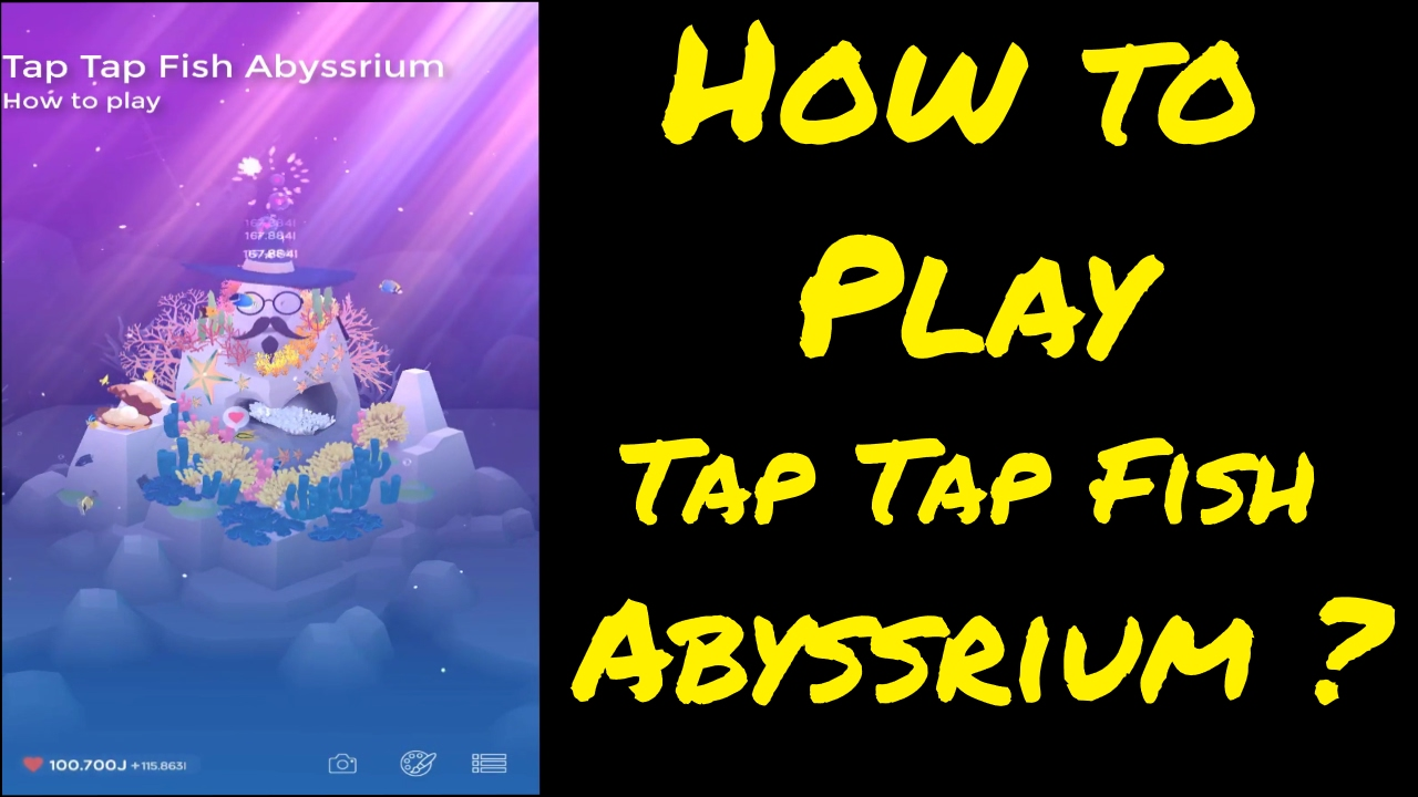 Tap tap fish abyssrium tutorial youtube for Tap tap fish game